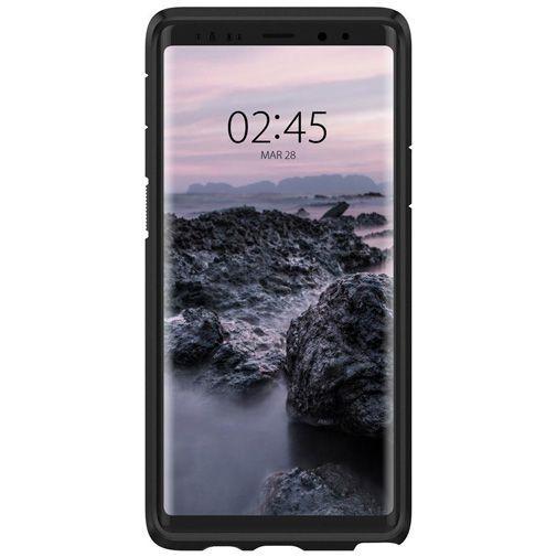 Produktimage des Spigen Tough Armor Hülle Schwarz Samsung Galaxy Note 9