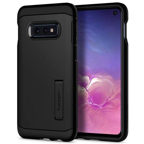 Productafbeelding van de Spigen Tough Armor Case Black Samsung Galaxy S10e