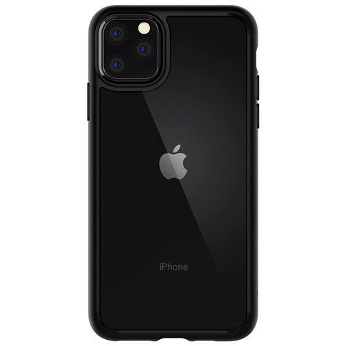 Productafbeelding van de Spigen Ultra Hybrid Case Black Apple iPhone 11 Pro