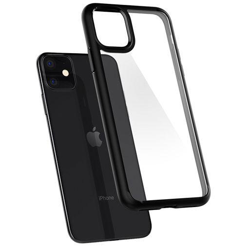 Productafbeelding van de Spigen Ultra Hybrid Case Black Apple iPhone 11