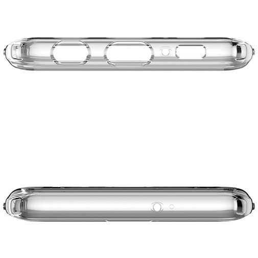 Productafbeelding van de Spigen Ultra Hybrid Case Clear Samsung Galaxy S10+