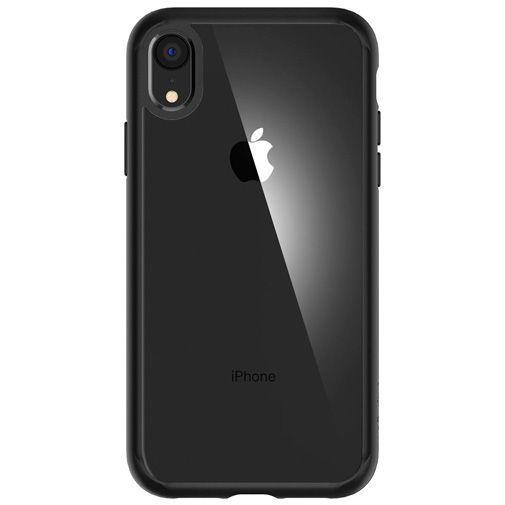 Productafbeelding van de Spigen Ultra Hybrid Case Matt Black Apple iPhone XR