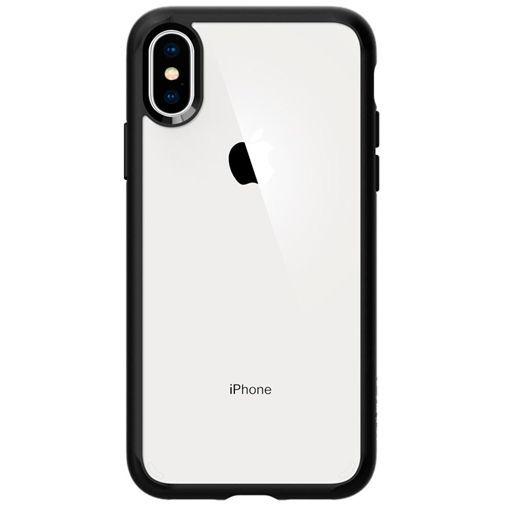 Produktimage des Spigen Ultra Hybrid Hülle Matt Schwarz Apple iPhone XS