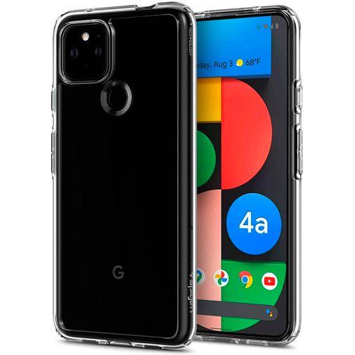 Productafbeelding van de Spigen Ultra Hybrid TPU Back Cover Transparant Google Pixel 4a 5G
