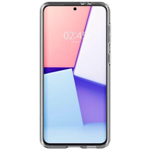 Productafbeelding van de Spigen Ultra Hybrid TPU Back Cover Transparant Samsung Galaxy S21+