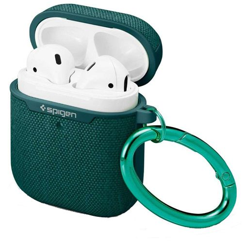 Productafbeelding van de Spigen Urban Fit Case Green Apple AirPods