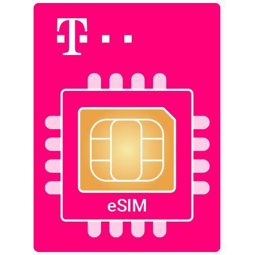 Productafbeelding van de T-Mobile vervangende eSIM