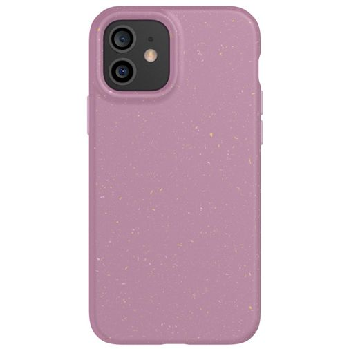 Productafbeelding van de Tech21 Eco Slim TPU Back Cover Apple iPhone 12/12 Pro Paars