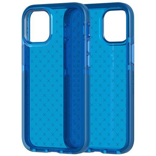 Productafbeelding van de Tech21 Evo Check TPU Back Cover Apple iPhone 12 Mini Blauw