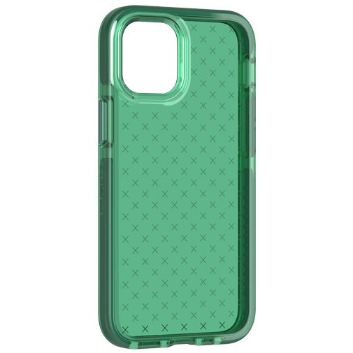 Productafbeelding van de Tech21 Evo Check TPU Back Cover Apple iPhone 12 Mini Groen