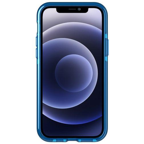 Productafbeelding van de Tech21 Evo Check TPU Back Cover Apple iPhone 12/12 Pro Blauw