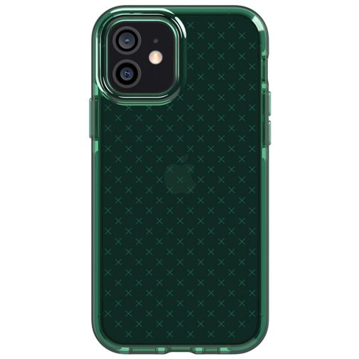Productafbeelding van de Tech21 Evo Check TPU Back Cover Apple iPhone 12/12 Pro Groen