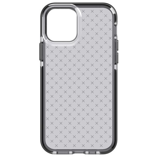 Productafbeelding van de Tech21 Evo Check TPU Back Cover Apple iPhone 12/12 Pro Zwart