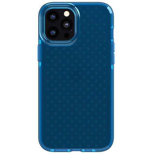 Productafbeelding van de Tech21 Evo Check TPU Back Cover Apple iPhone 12 Pro Max Blauw