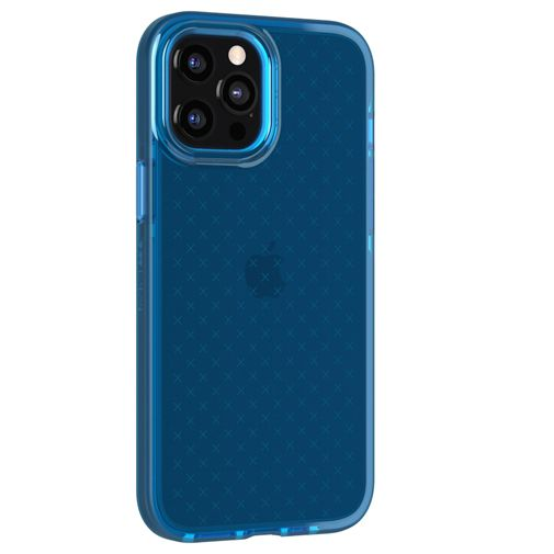 Productafbeelding van de Tech21 Evo Check TPU Back Cover Apple iPhone 12 Pro Max Blauw