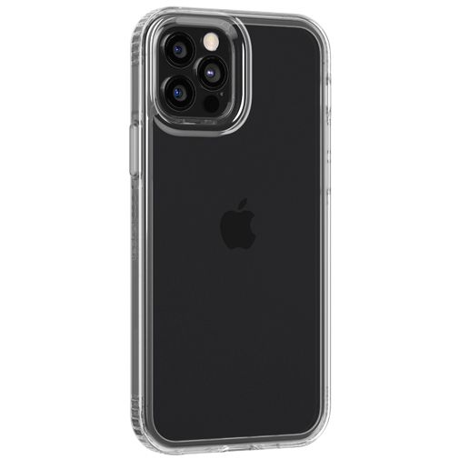 Productafbeelding van de Tech21 Evo Clear TPU Back Cover Apple iPhone 12/12 Pro Transparant