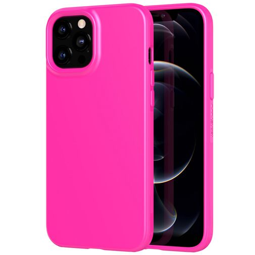 Productafbeelding van de Tech21 Evo Slim TPU Back Cover Apple iPhone 12 Pro Max Roze
