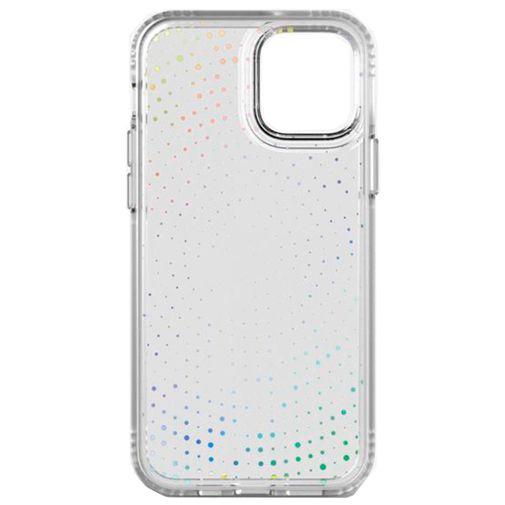 Productafbeelding van de Tech21 Evo Sparkle TPU Back Cover Transparant iPhone 12/12 Pro