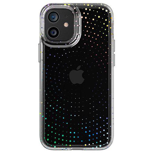 Productafbeelding van de Tech21 Evo Sparkle TPU Back Cover Transparant iPhone 12 mini