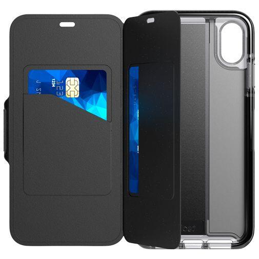 Productafbeelding van de Tech21 Evo Wallet Case Black Apple iPhone XS Max