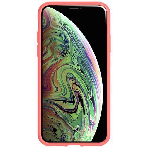 Produktimage des Tech21 Studio Colour Case Koralle Apple iPhone X/XS