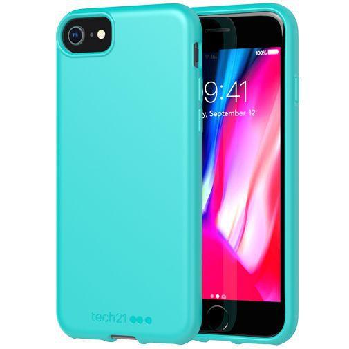 Produktimage des Tech21 Studio Colour Case Türkis Apple iPhone 6/6S/7/8/SE 2020