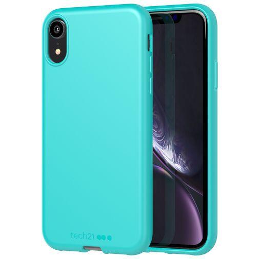 Productafbeelding van de Tech21 Studio Colour Case Turquoise Apple iPhone XR