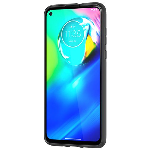 Produktimage des Tech21 Studio Colour Case Schwarz Motorola Moto G8 Power