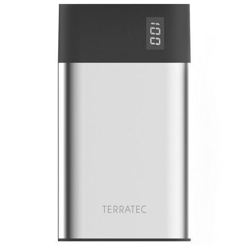 Produktimage des Terratec Powerbank P80 Slim 8000mAh Schwarz