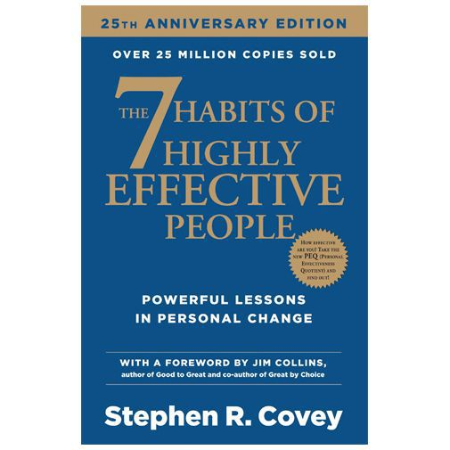 Productafbeelding van de The Seven Habits of Highly Effective People - Stephen R. Covey