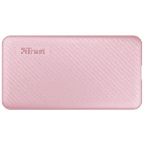Productafbeelding van de Trust Primo Powerbank 5.000mAh Pink