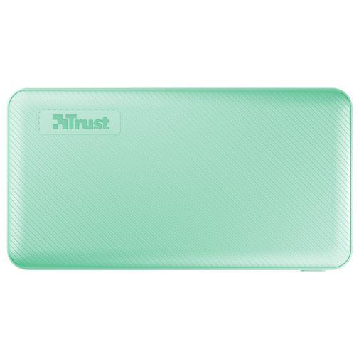 Productafbeelding van de Trust Primo Ultra Thin Powerbank 10.000mAh Green