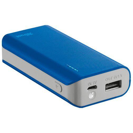 Productafbeelding van de Trust Urban Primo Powerbank 4.400mAh Blue