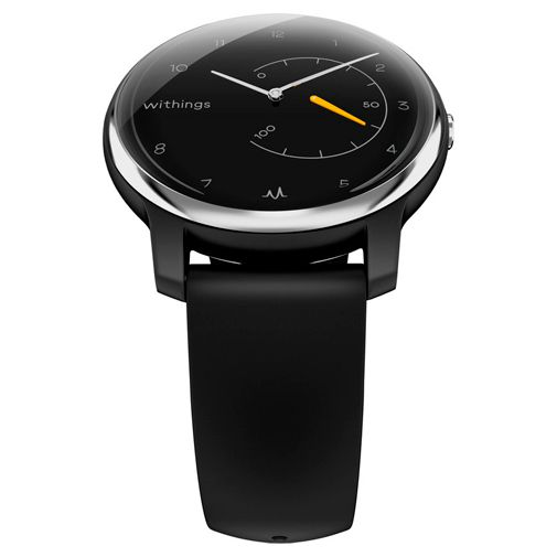 Produktimage des Withings Move ECG Silber/Schwarz