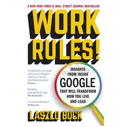 Productafbeelding van de Work Rules! - Laszlo Bock