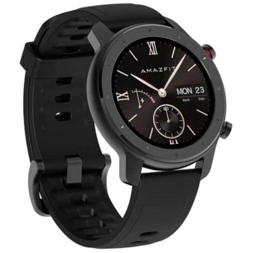 Productafbeelding van de Huami Amazfit GTR 47mm Lite Black Aluminium