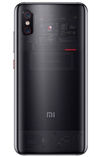 Productafbeelding van de Xiaomi Mi 8 Pro Transparent Black