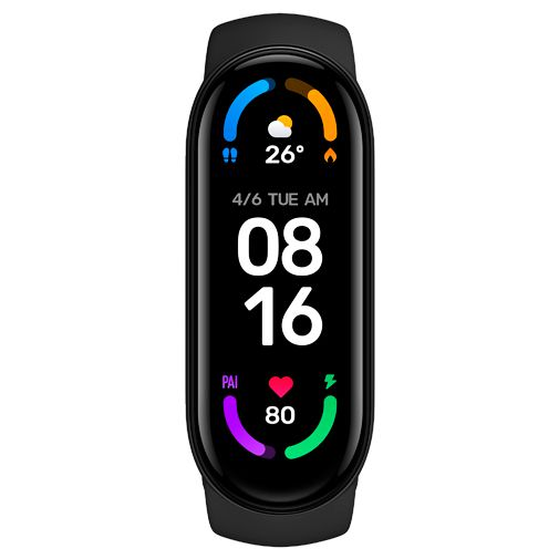 Productafbeelding van de Xiaomi Mi Smart Band 6 Zwart