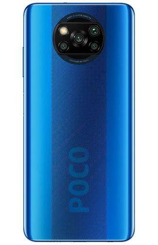 Product image of the Xiaomi Poco X3 128GB Blue
