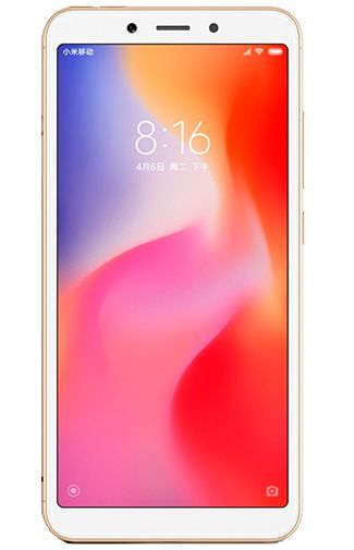 Productafbeelding van de Xiaomi Redmi 6 32GB Gold