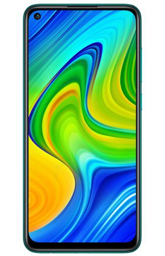Productafbeelding van de Xiaomi Redmi Note 9 128GB Green