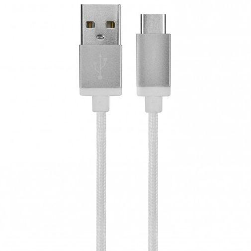 Productafbeelding van de Xqisit Cotton Cable USB naar USB-C Wit