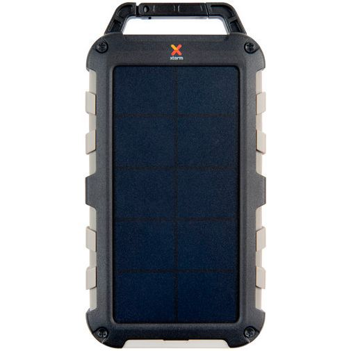 Productafbeelding van de Xtorm Robust Charger Solar Powerbank 10.000mAh Black
