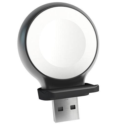 Productafbeelding van de Zens Aluminium USB-A Draadloze Lader Apple Watch 5W