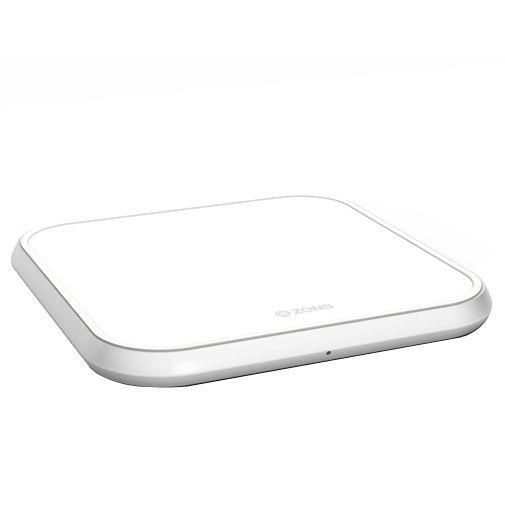 Productafbeelding van de Zens Single Aluminium Draadloze Snellader 10W White