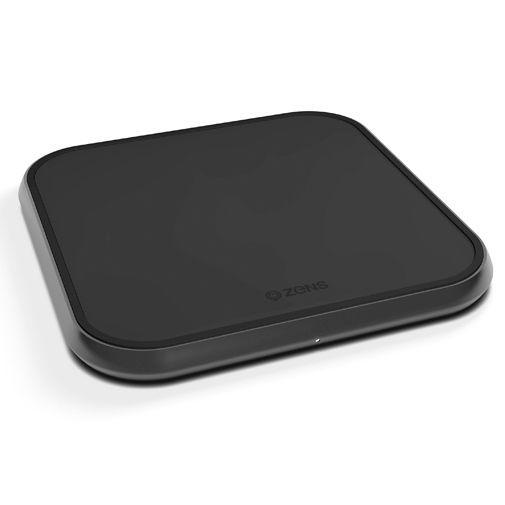 Productafbeelding van de Zens Single Aluminium Draadloze Snellader 10W Black