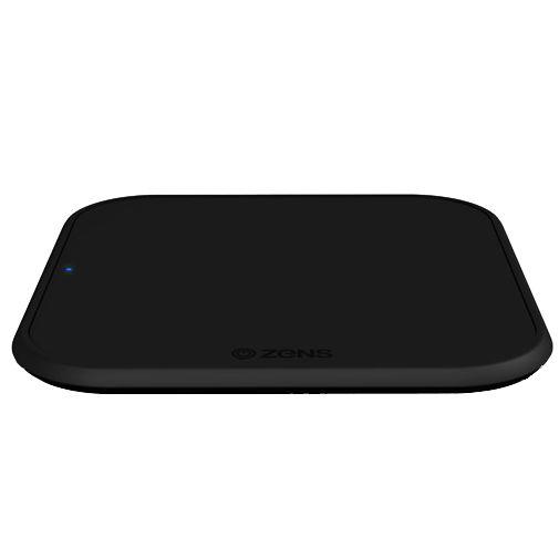 Productafbeelding van de Zens Single Draadloze Snellader 10W Black 2-Pack