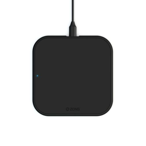 Productafbeelding van de Zens Single Draadloze Snellader 10W Black